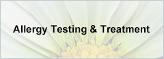 Allergy Testing & Treatment