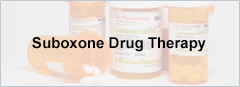 Suboxone Drug Therapy